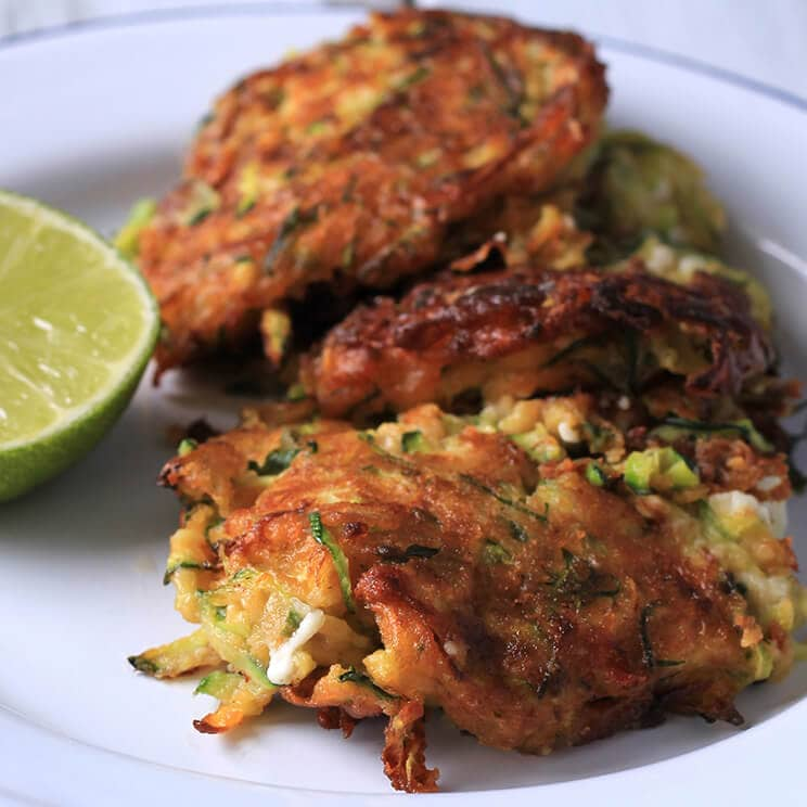 Wiltshire Chilli Farm - Courgette and Feta Fritters